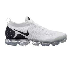Nike Air VaporMax 2018 Flyknit 2.0 White Black Women Men Shoes Nike Air Max  Mens f65f4ee0f58