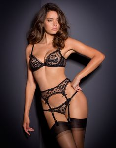 Denver by Agent Provocateur - I love lingerie that is very very sheer. This set is so delicate and pretty.