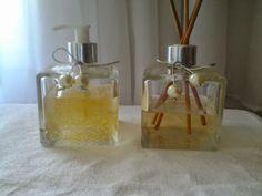 sabonete liquido e aromatizador de ambiente. ateliepetit@hotmail.com