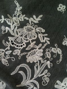 25efc5e9e504a Rosemary Cathcart Antique Lace and Vintage Fashion  Antique Lace Wedding  Veils For Sale