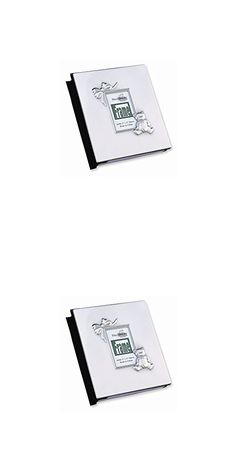 Jewelry Best Seller Pewter Finish Baby Holds 100 - 4x6 Photo Album
