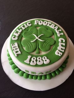 Celtic football club cake Celtic football Pinterest Cake Boy