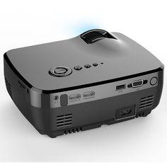 GP70 LCD Portable LED Projector 1080P Full HD 1200 Lumens HDMI USB FHD SD Home Theater Beamer Sale - Banggood.com