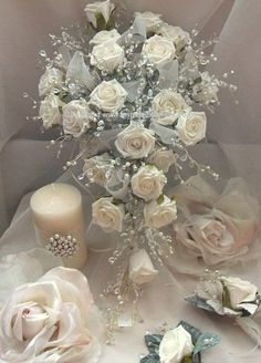 bridal bouquets silk wedding flowers