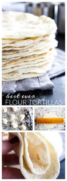 Best Ever Flour Tortillas