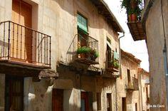 Balcón, Pedraza.