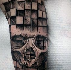 Discover bold bones with the top 50 best skull tattoo designs for men. Explore cool three dimensional cranium and bold bone ink ideas. Dream Tattoos, Life Tattoos, Body Art Tattoos, Skull Sleeve Tattoos, Skeleton Tattoos, Arm Tattoo, 3d Tattoos For Men, Unique Tattoos, Skull Tattoo Design