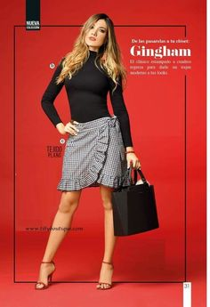 Women's Work Fashion Skirt Outfits, Sexy Outfits, Casual Outfits, Fashion Outfits, Office Fashion, Work Fashion, Fashion Corner, Fashion Poses, Young Fashion