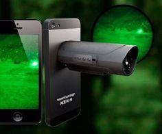 Snooperscope: Smartphone Night Vision Camera