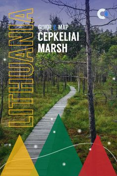 The Guide to visiting Čepkeliai Marsh in Dzūkija National Park. One of the most beautiful landscapes & off-beaten things to do in Lithuania. Map & all the details are included. #Europe #Lithuania