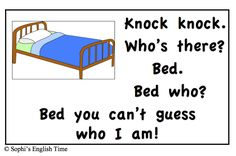 Knock Knock with Bed