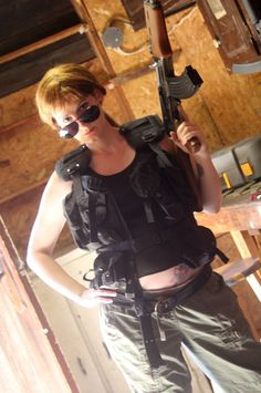 Sarah Connor from Terminator Cosplay http://geekxgirls.com/article.php?ID=2892
