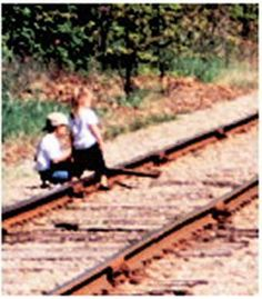 Trespassing can lead to potentially deadly consequences. Lake State Railroad…