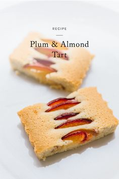 one of my favorite spring picnic dishes, doable with pretty much any fruit. click through for the recipe for this plum and almond tart.