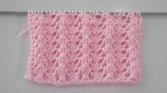 Üç Düz Üç Ters Büzme Örneği Lace Knitting Stitches, Baby Knitting Patterns, Crochet Clothes, Crochet Hats, Tunisian Crochet, Lana, Diy And Crafts, Projects To Try, Blanket
