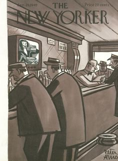 The New Yorker Cover - January 29, 1949 - Peter Arno