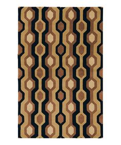 Take a look at this Forum Wool Rug by Surya on #zulily today!