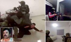 Video Shows Deadly Shootout Before El Chapo's Capture