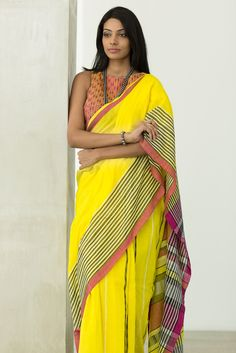Summer Collection Designer Soft Khadi Handloom Saree with Designer Blouse Piece could be worn for any age for all occasions For any inquiry or more designs feel free to call or WHATSAPP on 896 1147 Resellers, Wholesalers and Retailers are Welcome Salwar Suit Neck Designs, Sari Blouse Designs, Designer Sarees Collection, Saree Collection, Summer Collection, Saree Jewellery, Beaded Jewellery, Indian Fashion Trends, Saree Models
