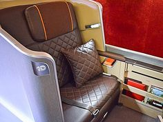 Singapore Airlines' New First Class