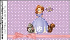 Princess Sofia the First: Free Printable Labels.