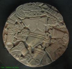Los Aztecas. Coyolxauhqui, diosa de la luna Museo del Templo Mayor (México DF).