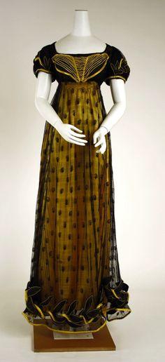 Dress c. 1818 - Metropolitan Museum of Art