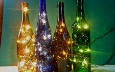 19 Of The World's Most Beautiful Wine Bottle Crafts