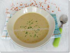Gizi-receptjei. Várok mindenkit.: Fűszeres vörös lencse-leves.