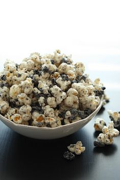 Cookies and Cream Popcorn - Cooking Classy (this is the recipe I actually use)