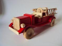 Camion de pompier de L 38cm x l 11cm x H 14 cm
