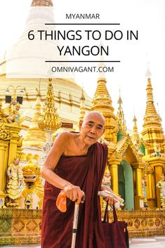 Read here 6 things to do in Yangon. Yangon, Myanmar's largest city, is vibrant and has enough things to do to keep you busy for weeks. Here are my 6 favorite things to do in Yangon. Including the Schwedagon Pagoda and the circle train!