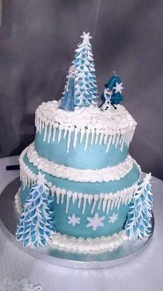 Sophia's Frozen Cake