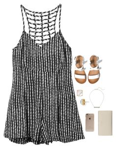 """i miss you guys !!! comment questions and ill answer soon ! { 1-2 days }"" by kadynpleasants ❤ liked on Polyvore featuring RVCA, Zara, Kate Spade, Alexis Bittar and Incase"