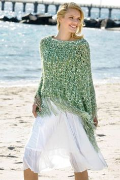 Poncho free pattern        N.Y.Yarns Free Knitting Patterns - N.Y. Yarns Free Crochet Patterns