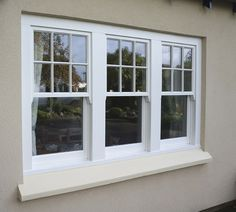 If your sash windows have turn out to be old, worn and are no longer operating well, you'll definitely be considering getting them constant, or even replaced. Having your windows. Upvc Sash Windows, Front Windows, Casement Windows, Windows And Doors, Black Windows, Sliding Windows, Cottage Windows, Bedroom Windows, Farmhouse Windows