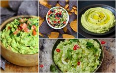 Recetas que parecerían una locura pero cuyo sabor y mezcla, las hace únicas añade queso azul, frutas e ingredientes extravagantes que realzarán tu guacamole