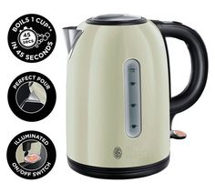 Traditional kettle cream stainless