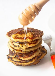 Baby Food Recipes, Cooking Recipes, Raw Vegan, Pancakes, Deserts, Food And Drink, Gluten Free, Keto, Sweets