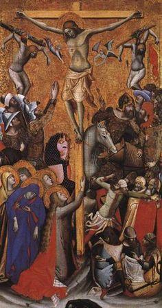 Vitale da Bologna - Crucifixion