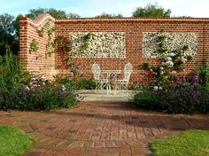 Brickwork and Flint Panel Walls by Roger Gladwell Landscaping and ...