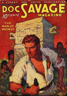 Doc Savage Volume 01 Number 01 March 1933