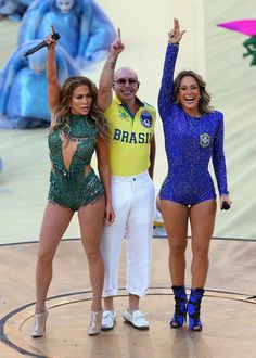 Pin for Later: The Best Pictures From Brazil's World Cup Opening Ceremony