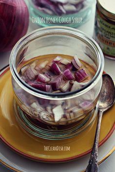 Homemade Onion Honey Cough Syrup