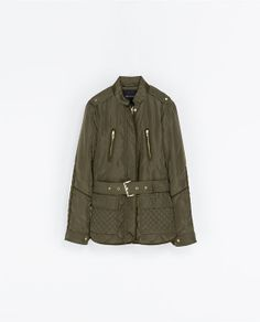 ZARA - WOMAN - QUILTED JACKET WITH PIPING