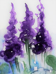 purple Flowers 2 Art Print by Britta Zehm. All prints are professionally printed, packaged, and shipped within 3 - 4 business days. Choose from multiple sizes and hundreds of frame and mat options.