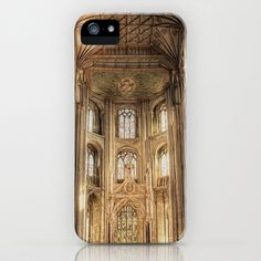 Peterborough Cathedral  iPhone Case by F Photography and Digital Art - $35.00