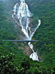 Dudhsagar Falls, Indiahttp://www.stopsleepgo.com/vacation-rentals/india