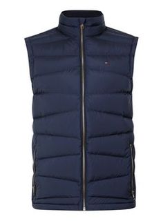 HILFIGER DENIM Navy Padded Gilet