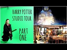 "Harry Potter Studio Tour : Part One - ""I barely containing my envy. I wish I was a Brit."""